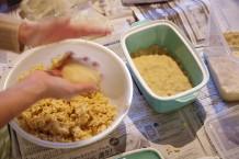 みたて農園の大豆とお米でみそづくり