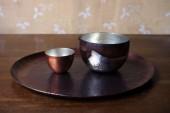 小笠原加純さんの新月盆、新月鉢